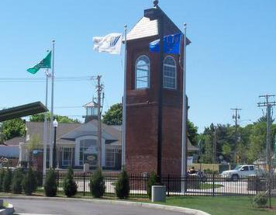 Webster clock tower east village